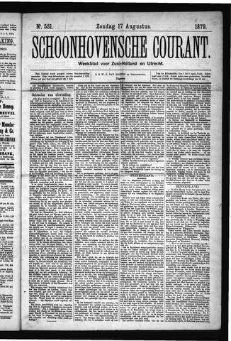 Schoonhovensche Courant 1879-08-17