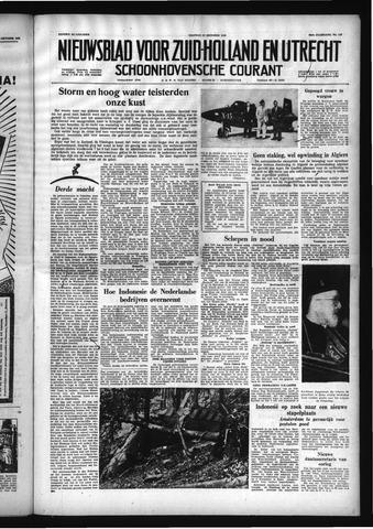 Schoonhovensche Courant 1958-10-17