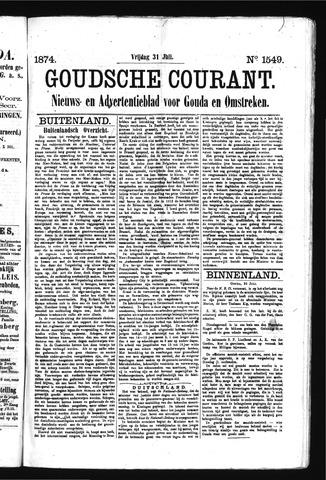 Goudsche Courant 1874-07-31