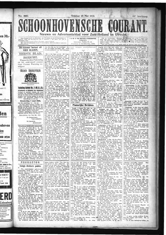 Schoonhovensche Courant 1923-05-18