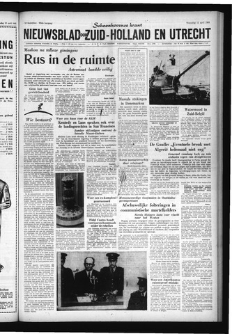 Schoonhovensche Courant 1961-04-12