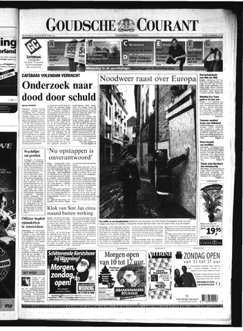 Goudsche Courant 2001-01-06