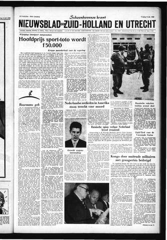 Schoonhovensche Courant 1960-07-08