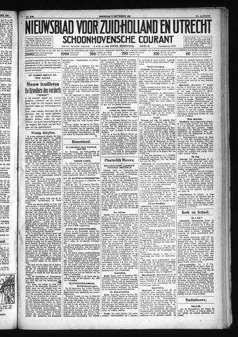Schoonhovensche Courant 1930-09-17