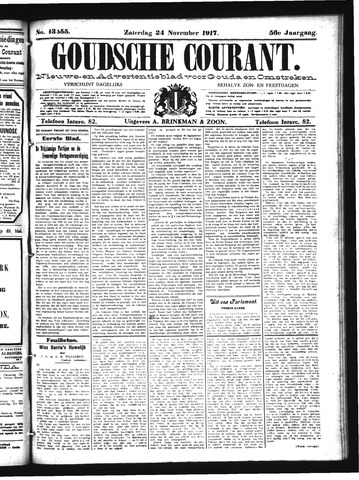 Goudsche Courant 1917-11-24
