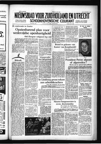 Schoonhovensche Courant 1955-07-22