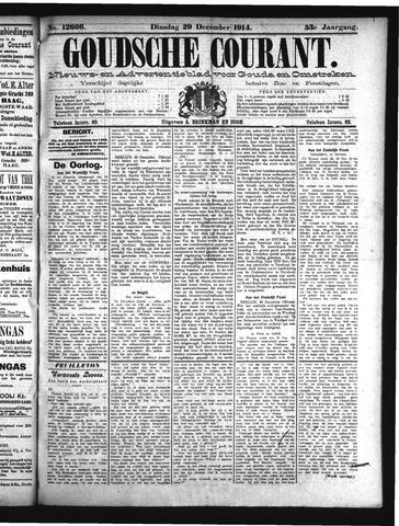 Goudsche Courant 1914-12-29