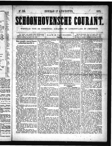 Schoonhovensche Courant 1873-08-17