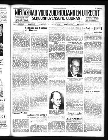 Schoonhovensche Courant 1940-02-28
