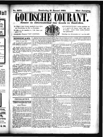 Goudsche Courant 1895-01-31