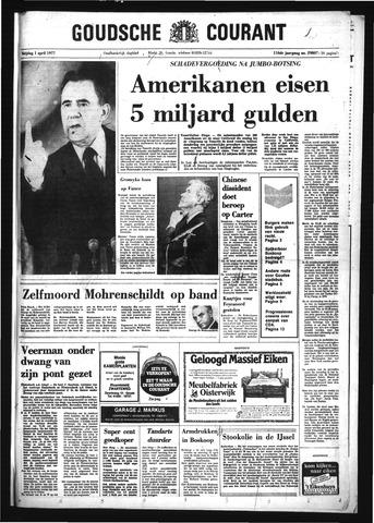 Goudsche Courant 1977-04-01