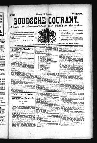 Goudsche Courant 1893-01-10