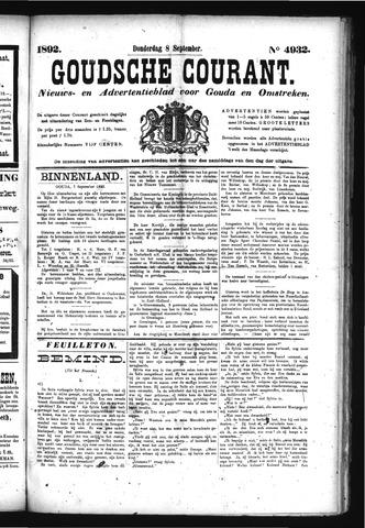 Goudsche Courant 1892-09-08