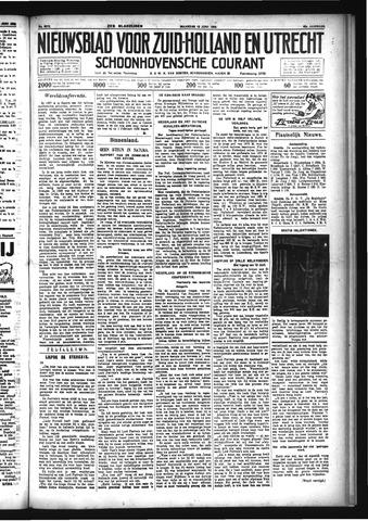 Schoonhovensche Courant 1933-06-12