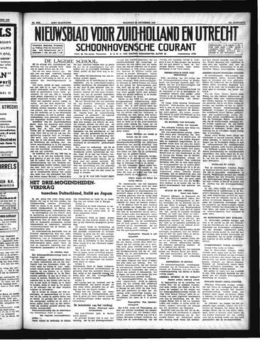 Schoonhovensche Courant 1940-09-30