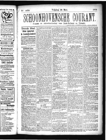 Schoonhovensche Courant 1919-05-16