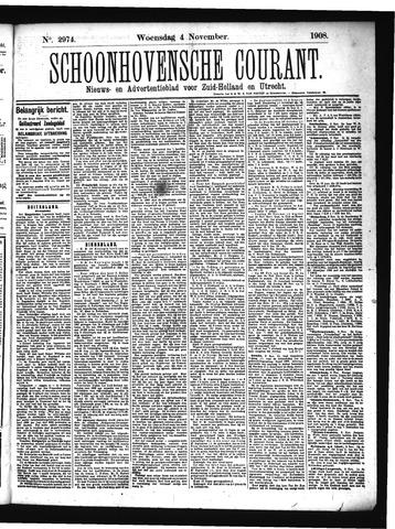 Schoonhovensche Courant 1908-11-04