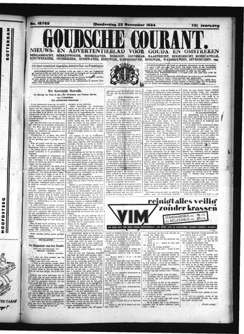 Goudsche Courant 1934-11-29