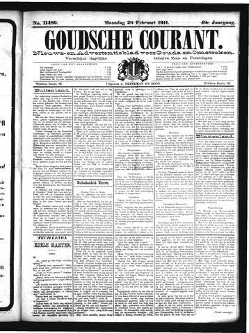 Goudsche Courant 1911-02-20