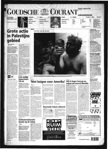 Goudsche Courant 2002-08-02