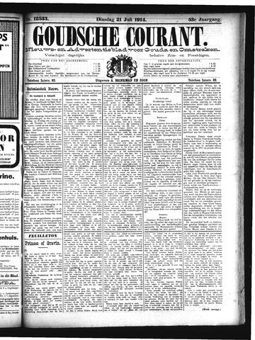Goudsche Courant 1914-07-21