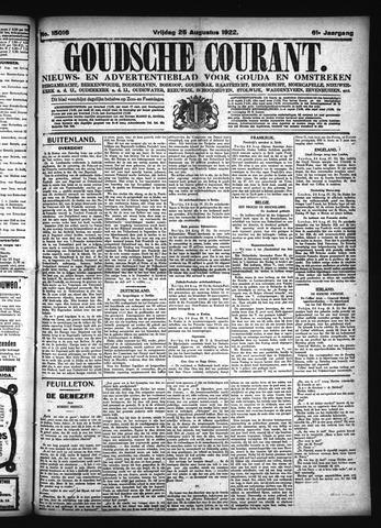 Goudsche Courant 1922-08-25