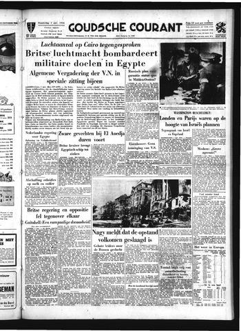 Goudsche Courant 1956-11-01