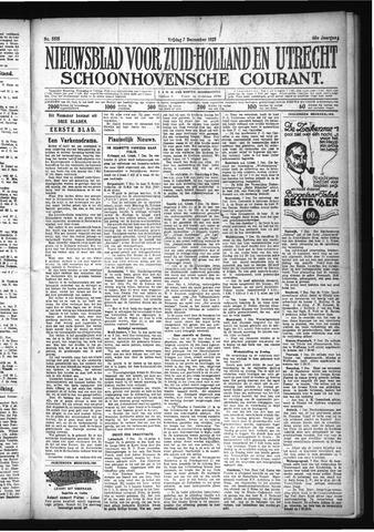 Schoonhovensche Courant 1928-12-07