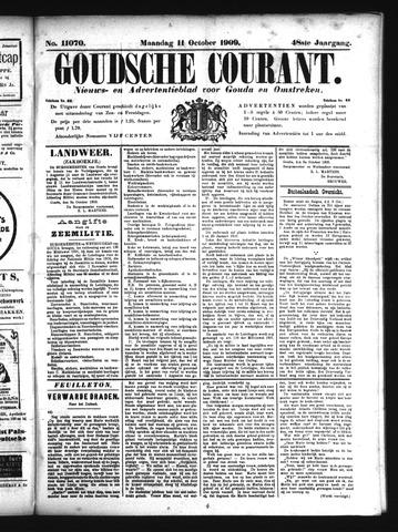 Goudsche Courant 1909-10-11