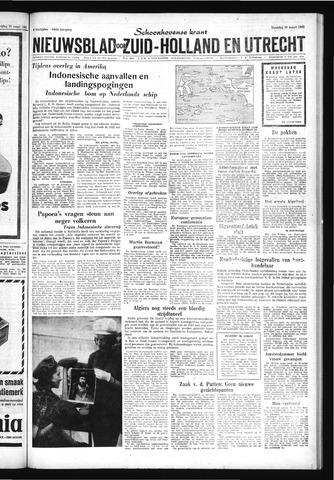 Schoonhovensche Courant 1962-03-26