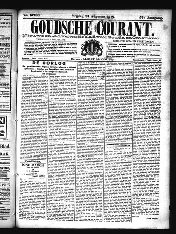 Goudsche Courant 1918-08-23