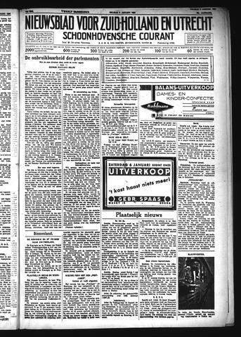 Schoonhovensche Courant 1934-01-05