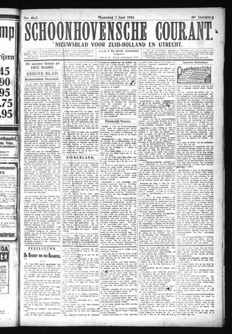 Schoonhovensche Courant 1924-06-02
