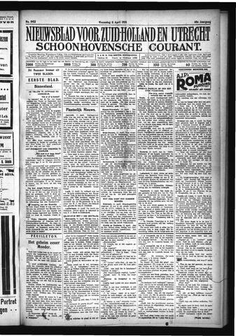 Schoonhovensche Courant 1928-04-11