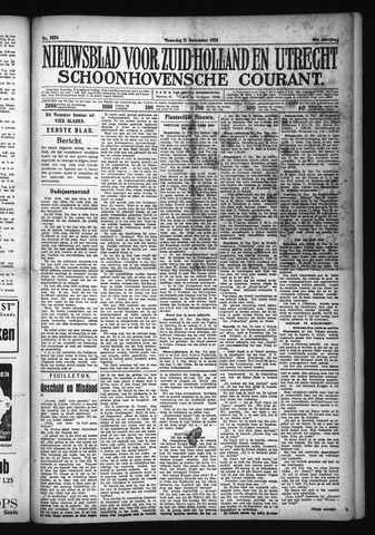Schoonhovensche Courant 1928-12-31