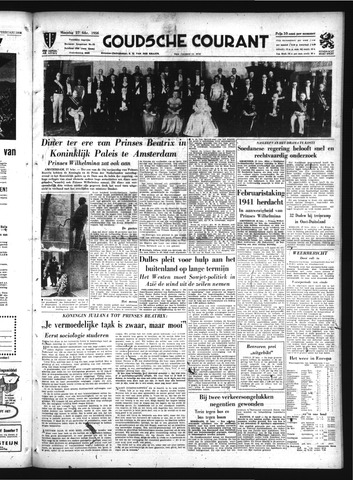 Goudsche Courant 1956-02-27