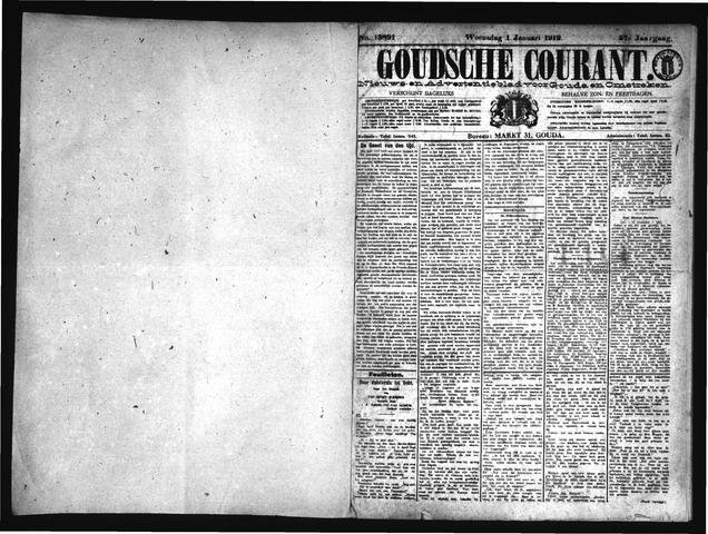 Goudsche Courant 1919