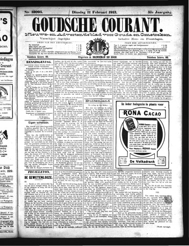 Goudsche Courant 1913-02-11