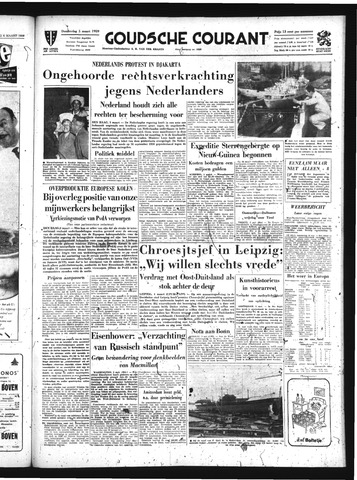 Goudsche Courant 1959-03-05
