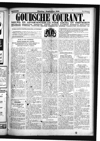 Goudsche Courant 1936-09-01
