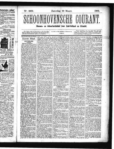 Schoonhovensche Courant 1902-03-29