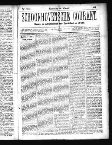 Schoonhovensche Courant 1901-03-16
