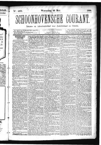 Schoonhovensche Courant 1920-05-26