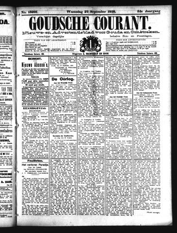 Goudsche Courant 1916-09-27