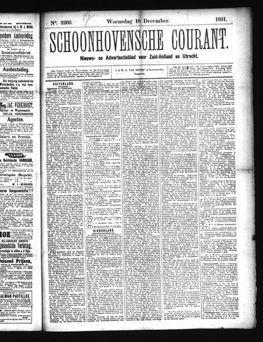 Schoonhovensche Courant 1901-12-18