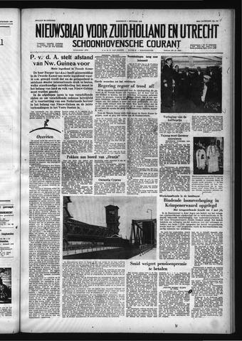 Schoonhovensche Courant 1958-10-01