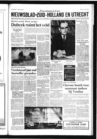 Schoonhovensche Courant 1969-04-18