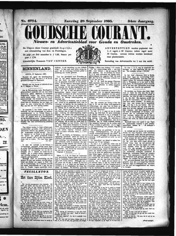 Goudsche Courant 1895-09-28