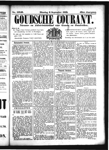 Goudsche Courant 1910-09-06