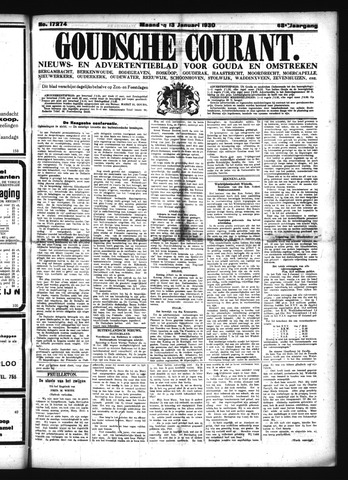 Goudsche Courant 1930-01-13